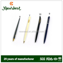 Hotel restaurant supplies, high-quality plastic ball pen, metal ball pen, pencils