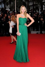 Lily Donaldson Hunter Evening Bridesmaid Gown Prom Dress 2012 Cannes Film Festival Red Carpet
