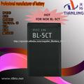 3.7 v 1800 mah La batería de los teléfonos BL-5CT para nokia 5220 6303c 6730c 3720