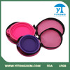 Made in China 2015 Yitong Main product silicone dog bowl silicone pet feeder with bag