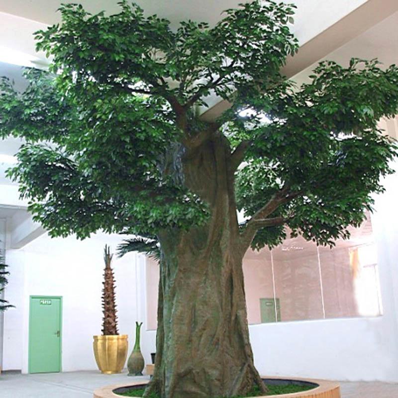 gros en plastique int rieure banyan plantes artificielles bas prix baobab arbres arbres. Black Bedroom Furniture Sets. Home Design Ideas