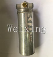 Auto air conditioning compressor receiver drier 515-3R Aluminum 60*200mm