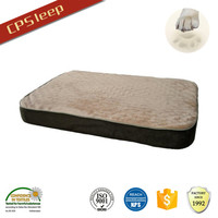 Custom Warm New Arrival Beautiful Flat orthopedic memory foam dog bed