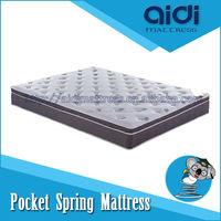 luxury pocket spring vaccum compressed mattress AL-1102