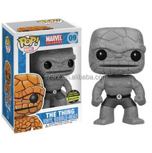 FUNKO POP MARVEL BLACK & WHITE THING BOBBLEHEAD VINYL FIGURE EXCLUSIVE