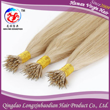 2015 Long Lasting Aaaaa Grade Human Virgin Hair Keratin Glue Directly Factory Price Cuticle Remy Cheap Nano Ring Hair Extensions