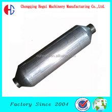 BAIC M20 101inch long round aluminum polished car exhaust muffler