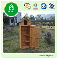 small garden bike tool outdoor wooden storage