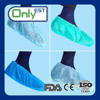 Nonwoven household disposable non skid shoe cover with high quality