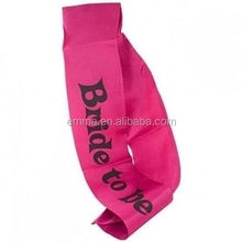 New bride to be hen party sash red hen party supplies for girls night out accessory SA4023
