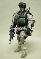 """OEM military 12"""" action figures with uniforms"""