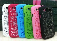 Beautiful Colours Cute CASE FOR SAMSUNG GALAXY SIII S3 I9300