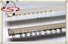 gd01hot vender silencioso de alumínio trilho de cortina