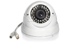 Vandalproof 1080P CVI LED array cctv Camera 2MP full HD CVI Dome camera low price cctv dome camera