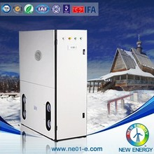 dhw all-in-one heat pump for geothemal havc system