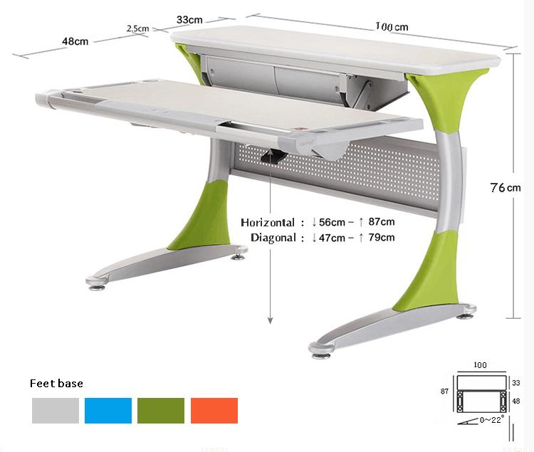 Asu Classroom Design Guidelines : Hya s b mesa ajustable para niños