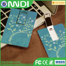 Chinese Manufacturer 1gb to 64gb credit card flash drive 2015