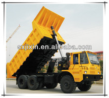 SHACMAN off road mine dump truck as weight as HOWO truck