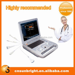 Reliable Trolley Color Doppler Ultrasound Machine