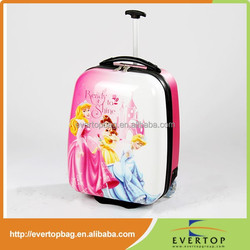 Hot sale kid's travel luggage bags, new trolley luggage bags for students