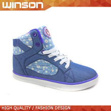 wholesale cheap lace up Skate sneaker shoes for girl 2015