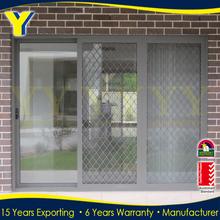Aluminium profile Sliding soundproof doors with AS2047 Australian standard