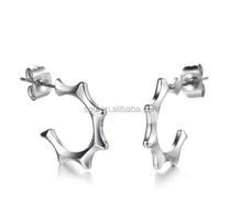 stainless steel earrings findings