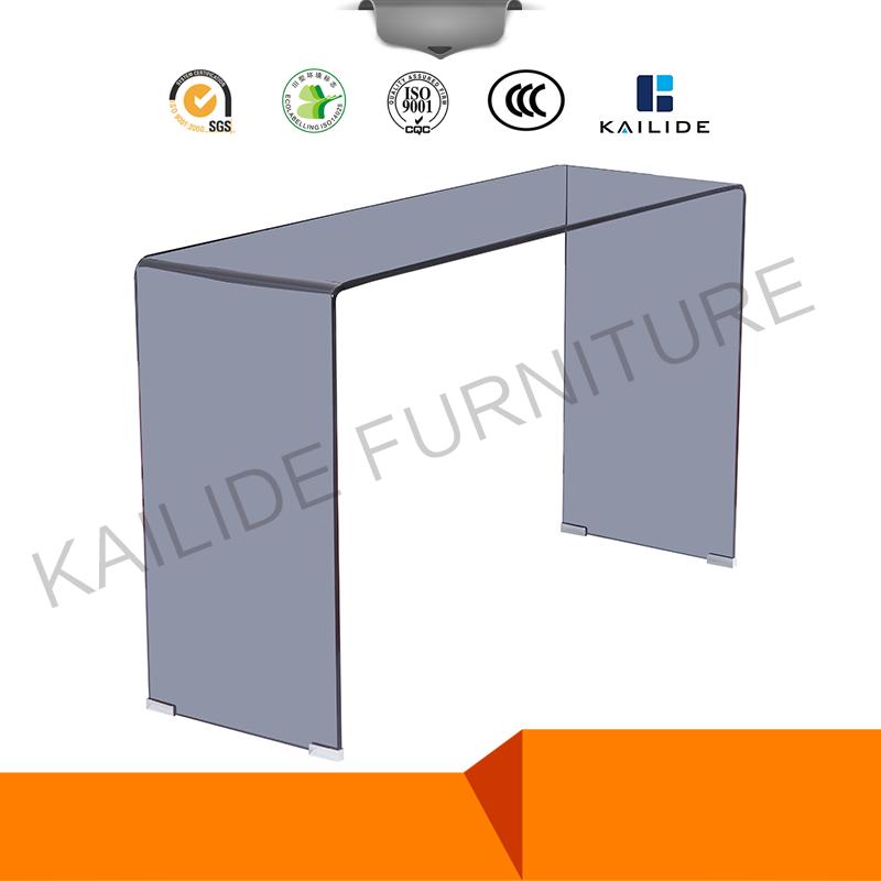 현대 가구 강화 유리 콘솔 테이블 흰색 MDF-커피 테이블 -상품 ID ...