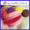 silicone make up bag /lady silicone handbags/fashion silicone handbag