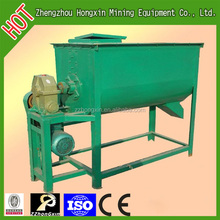 Corn mill and mixing machine for animal feed processing