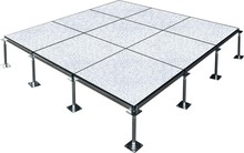 Antistic PVC finish raised access floor system for office