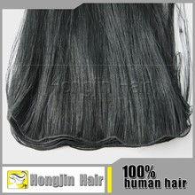 HBH-017 Unprocessed Cheap Factory Price Grade 6a Hand Tied Weft Indian Hair Weaving Wholesale 100% Indian Virgin Hair