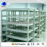 Jracking galvanized Q235 warehouse steel selective metal dvd storage rack