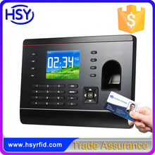 Smart RFID Card Fingerprint Time Attendance Time Recorder with free software
