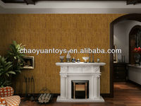 seamless polyester wallcloth for decoration in drawing room BS0914#