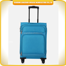 soft fabric baigou factory luggage with high quality accessories luggage bag for long journey