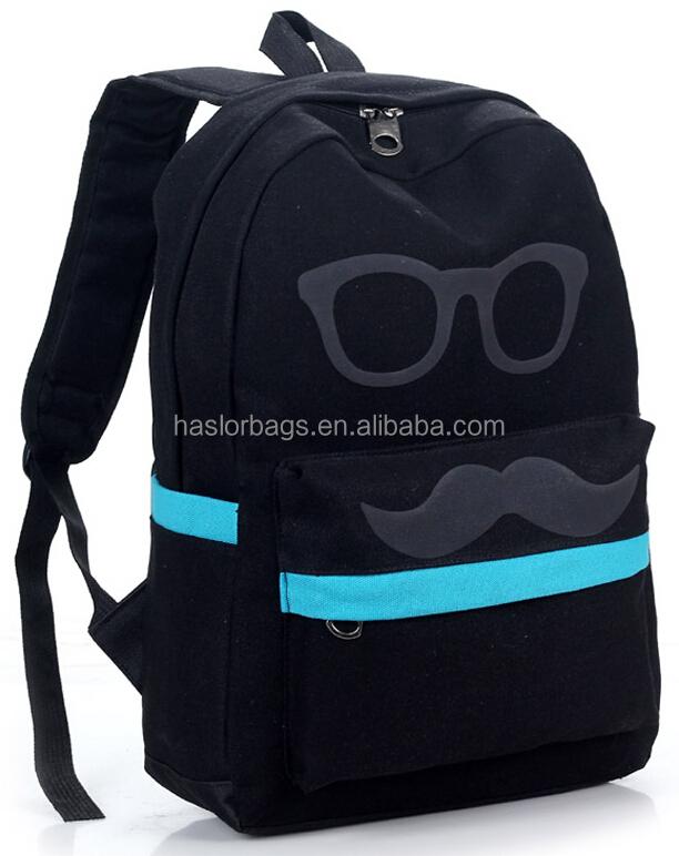 Style coréen Jean sport sac à dos pour les adolescents