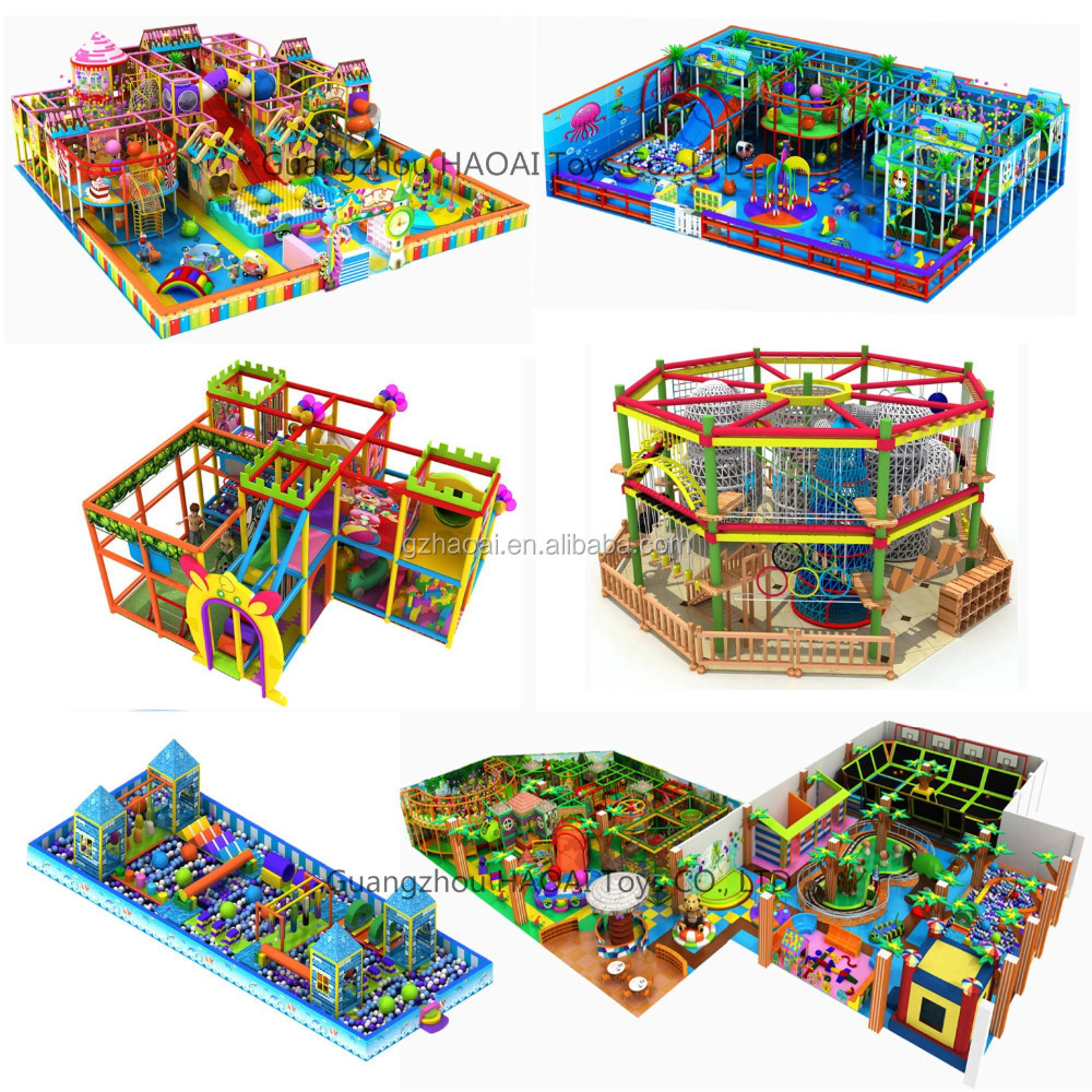 Indoor Playground Designs from RAE_