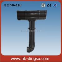 "Hot sale PVC 5.2""&7"" plastic pvc gutter joiner for pvc gutter fittings Direct Factory Price"
