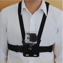 Action Camera Accessories Adjustable Chest Belt/Strap Harness Mount Kit with For Go pro XiaoYi Outdoor Sporting