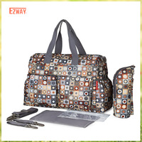 Wholesale Canvas Brand Tote Diaper Baby Travel Bag