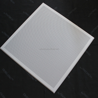 Customized Flat Perforated Panel Metal Ceiling Suspended Ceiling Board Aluminum Lay In Ceiling