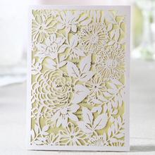 Best Selling Wholesales Laser Cutting Invitation Card Wedding