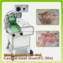 FC-304 COOKED goat meat slicing machine