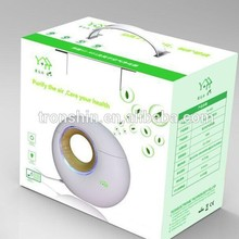 Wholesale Eco-friendly Portable LED light music player fresh air purifier ozone generator