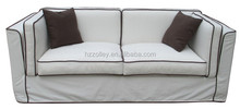 French Style Antique Three Seater Home Furniture Upholstery Sofa
