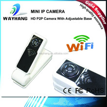 1080P WIFI Hidden Camera Recording Camera/ mini ip wifi camera with adjustable base