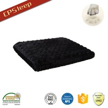 Wear-Resistant New Arrival Factory Flat Eco-Friendly Black dog bed outside