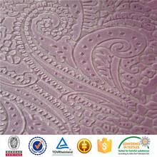 China polyester cheap fabric sofa bed