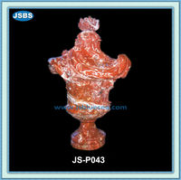 Ornament Animal Shaped Carved Stone Vases